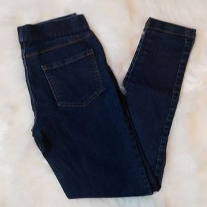 Skinny Jeans Leggings Faded Glory Stretch Waist